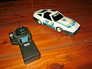 Radio Shack Nissan 300ZX Turbo 1980s vintage RC car front wheel drive