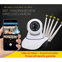 1080P Caméra Dôme Extérieure Caméra de Surveillance Sécurité IP 2.4GHz WiFi