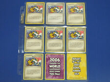 NEW Pokemon TCG 2006 World Championships Tropical Tidal Wave 9Promo Card Pikachu