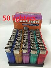 50 Assorted color Disposable Cigarette Classic Lighter Wholesale Free ship US