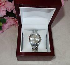 Timepieces by Randy Jackson Ladies silver Tone Sport Bracelet Watch WRJ10014MAO1
