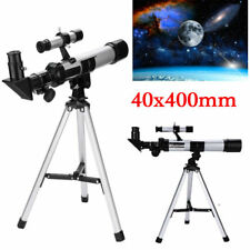 F40400 Refractor Astronomical Telescope Optical With Tripod+Eyepiece+Star Finder