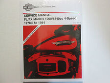 1979 1980 1981 Harley Davidson FL FX Electra Super Service Repair Manual Set NEW