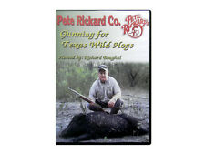 PETE RICKARD - NEW GUNNING FOR TEXAS WILD HOGS HUNTING DVD 86 MIN. PIG HUNTING