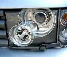 Range Rover L322 front head Light Lamp Lens Glass left hand nearside N/S genuine