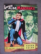 SUPER ALBO MANDRAKE #  72 - 16 FEBBRAIO 1964 - EDIZIONE SPADA - THE MAGICIAN