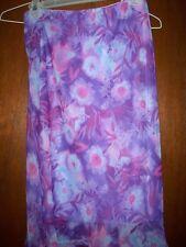 NWOT Rave City Sheer Floral Skirt SzM