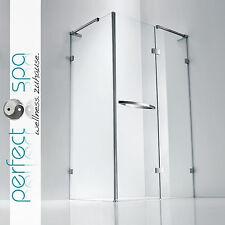 Luxus Duschwand Duschabtrennung Dusche Duschtrennwand 10mm ESG Sicherheitsglas