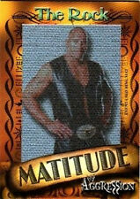 WWE The Rock 2003 Fleer Matitude Picture Card 1 of 50