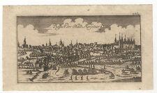 Merseburg: Kupferstich aus Ben-Jochai, 1763