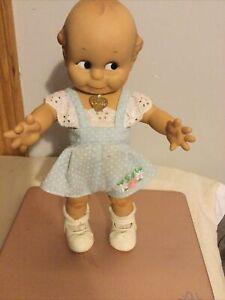 """VTG '87 Effanbee Jesco 12"""" Kewpie Doll"""