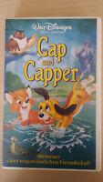 Cap und Capper, Meisterwerke von Walt Disney, VHS Originalkassette, Sammlerstück