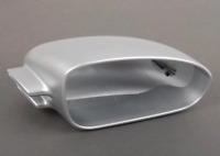 New Genuine AUDI RS4 06-08 O/S Right Mirror Cap Matt Aluminum 8E0857528A1L1 OEM