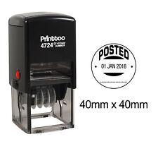 Printtoo-rundes Büro-Briefpapier Dater-Stempel mit bekanntgegebenem-PR4724-142