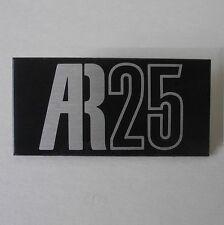 Acoustic Research AR25 logo speaker cabinet emblem, c.1979—2 available—excellent