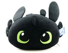 NEW Universal Studios Dreamworks How To Train Your Dragon Toothless Plush Pillow