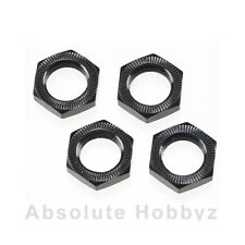 Hot Bodies 17mm Wheel Nut (Black/4pcs) - HBS67492