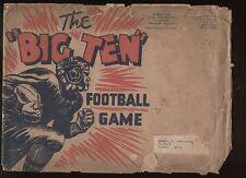 BIG TEN FOOTBALL GAME from Flour City Paper Box (1936) w/ original envelope