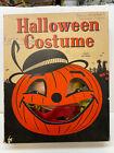 1950's Vintage Gypsy Halloween kid's costume & mask in pumpkin box!  FREE SHIP