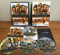 Rise & Fall: Civilizations At War - DVD-ROM - Complete - EXCELLENT