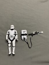 Star Wars Black Series 6 Inch First Order Flametrooper Loose And Complete.