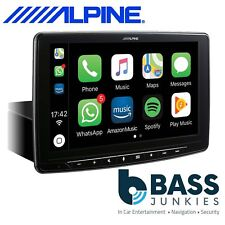 """Alpine iLX-F903D 9"""" DAB Bluetooth Apple CarPlay Android Mechless iPhone Stereo"""