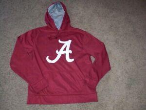 ALABAMA sewn athletic Hoodie Sweatshirt men's Large