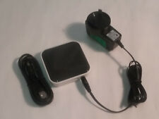 Belkin F4U020 USB 2.0 480Mbit/s Black White interface hub + Power Supply + Cable