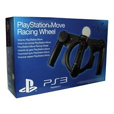 NUOVO Ufficiale Sony Playstation 3 Move RACING WHEEL PS3
