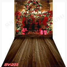 Christmas10'x20'Computer/Digital Vinyl Scenic Photo Backdrop Background SV203B88