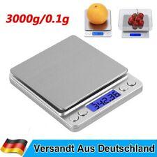 3kg/0,1g Digital LCD Küchenwaage Digitalwaage Feinwage Präzision Briefwaage