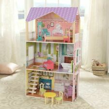 Kidkraft Poppy Dollhouse | Wooden Dollhouse | Fits Barbie Sized Dolls