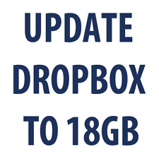 Dropbox update To 18 GB Lifetime! ONLY NOW 50% OFF!
