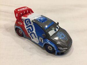 Disney Pixar Cars 2 RAOUL CAROULE WGP CARBON RACER 1:55 Diecast TOKYO DRIFT