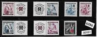 #6286     MNH Stamp set German  Occupation Third Reich Red Cross & Nursing WWII