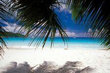 "Infrarotheizung Elegance - Glas rahmenlos, 500 Watt, Motiv ""Karibik"""