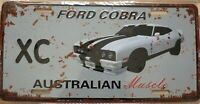 FORD XC COBRA Metal Signs Australian Muscle Cars MAN CAVE SHED BAR