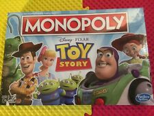 Monopoly Disney Pixar Toy Story Parker Brothers Hasbo Game New In Sealed Box