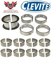 Chevy Sbc 265 283 327 Small Journal Crank Clevite Rod And Main Bearings Set