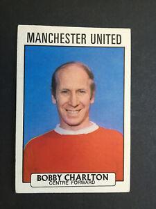 Bobby Charlton Manchester United a & bc gum purple back football card 1971