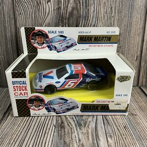 #6 Mark Martin Scale 1:43 Die Cast Metal & Plastic Official Stock Car  No. 3025
