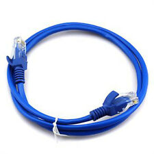 1 Pc 3 FT Foot 1M RJ45 CAT5 5e CAT5e Ethernet Network LAN Cable Cord Blue New