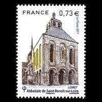 """France 2017 - Fleury Abbey """"Saint-Benoît-sur-Loire"""" Architecture - Sc 5236 MNH"""