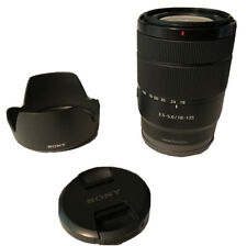 Sony SEL E 18-135mm F/3.5-5.6 OSS Lens Great Condition!