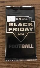 Unopened Lot Of 2: 2016 Panini Black Friday Football Card Packs 1 Hit/Pack