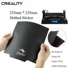 Creality 3D Magnético Pegatina de cama caliente 235X235mm Pad para Ender - 3 Pro 3D Impresora
