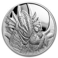 Ann Stokes Collection 1oz Friend Or Foe .999 Fine Silver Proof Round COA