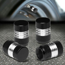 4pcs Aluminum Tire/Rim Valve/Wheel Air Port Dust Cover Stems Caps Car Accessory