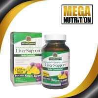 Nature's Answer Liver Support 1500mg 90 Veg Caps | Herbal Healthy Liver Function