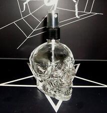 Parfumflakon Skull Totenkopf aus Glas mit Zerstäuber 60ml leer Gothic